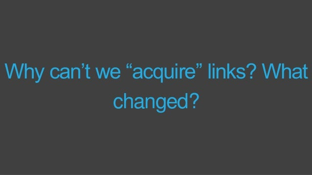 1997-2011: Link Spam was Google's Problem Via the Moz Blog