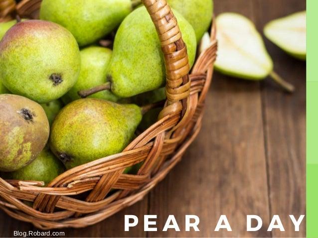PEAR A DAYBlog.Robard.com