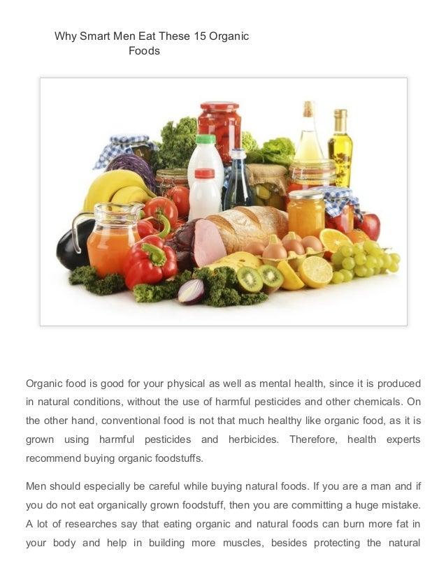advantages of organic food essay
