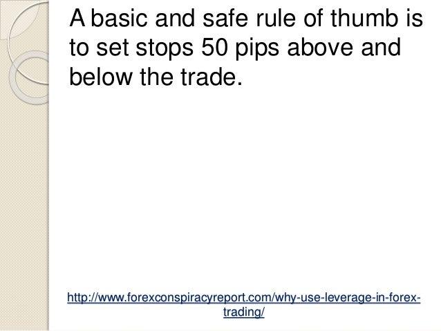 Safe forex leverage