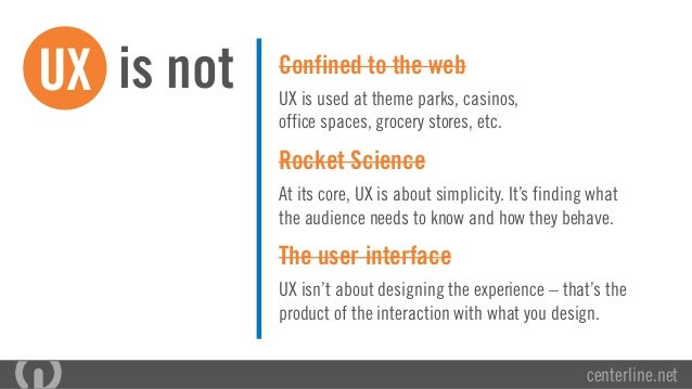 Why User Experience Matters | By UX Professionals from Centerline Digital Slide 3