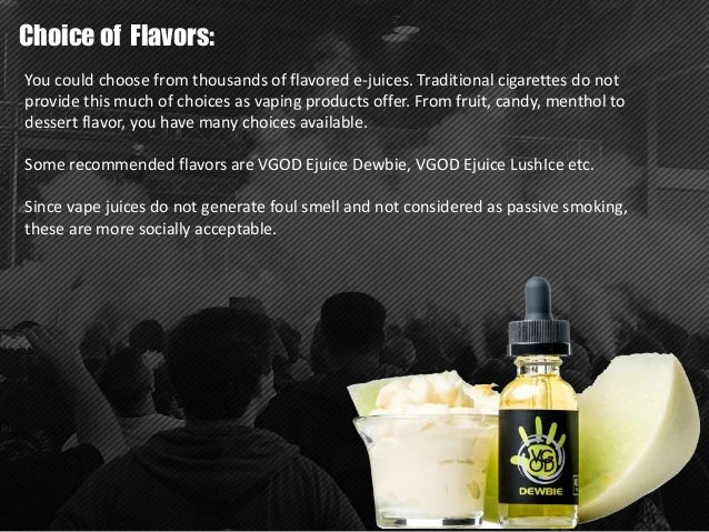 Why Vaping & E-liquid is better than smoking?