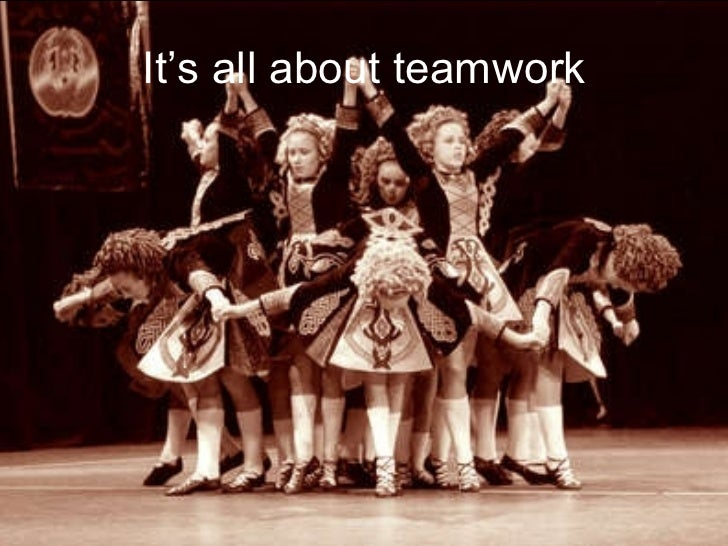 It's all about teamwork