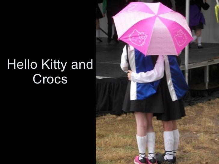 Hello Kitty and Crocs