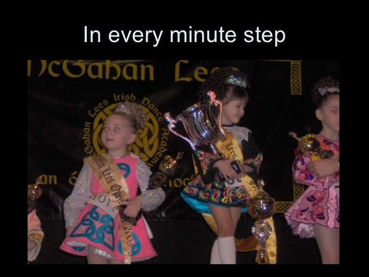 In every minute step