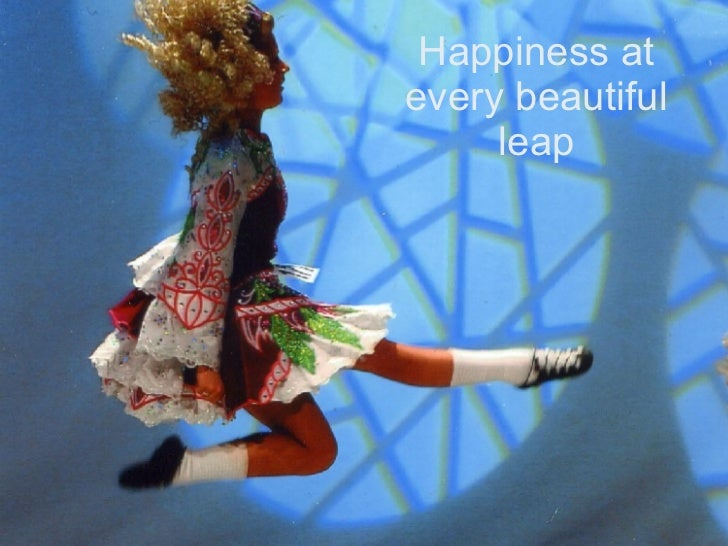 Happiness at every beautiful leap