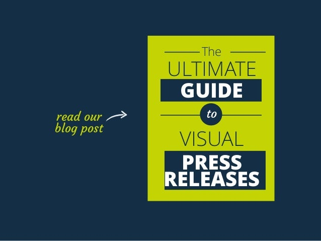 The ULTIMATE GUIDE to VISUAL PRESS