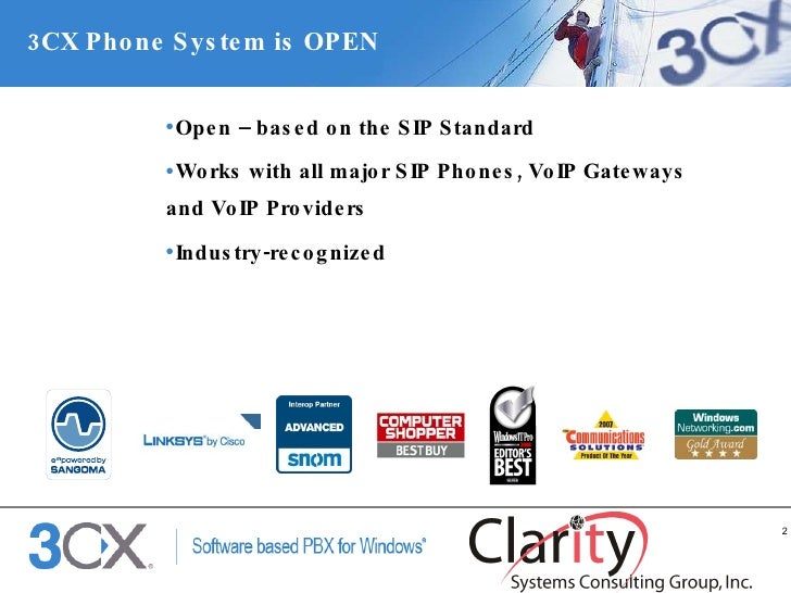 The 3CX VoIP PBX phone System