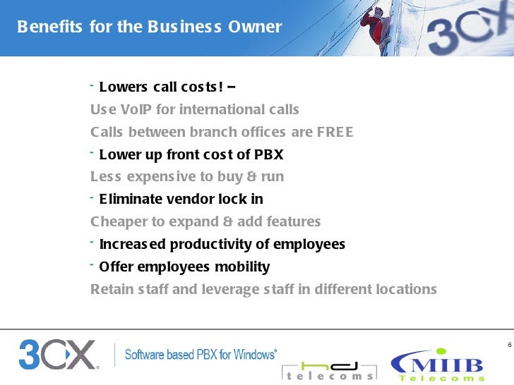 Why choose the 3CX phone System?
