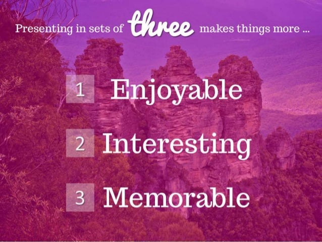 THREE Is Your New Favorite Number  Slide 3