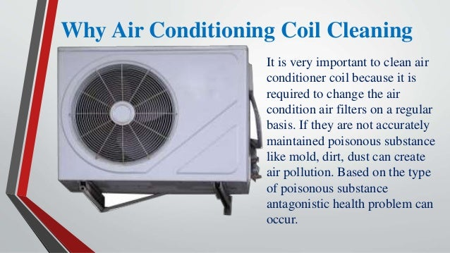 Why Air Conditioning Coil Cleaning