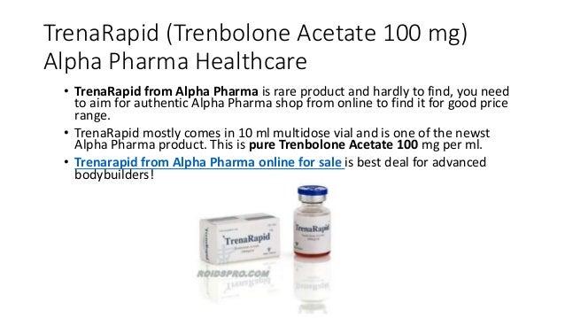 Trenarapid 100 mg young