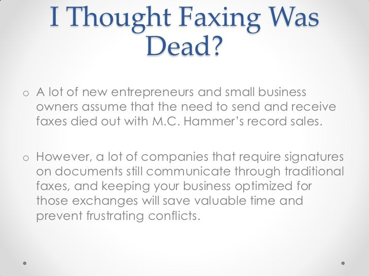 HelloFax & Google: Should Businesses Care That They Can Fax in the Cl…