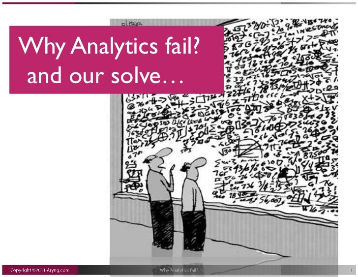 Why Analytics fail?and our solve…