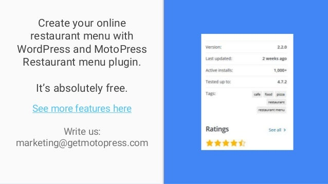 why and how to create restaurant menu in wordpress 2017