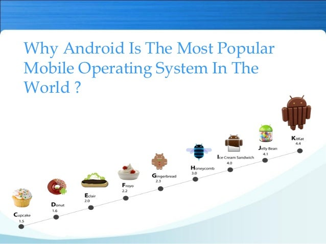 what is the latest android operating system why android is the most popular mobile operating system in 21789