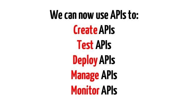 Remember: APIs areajourney, notadestination