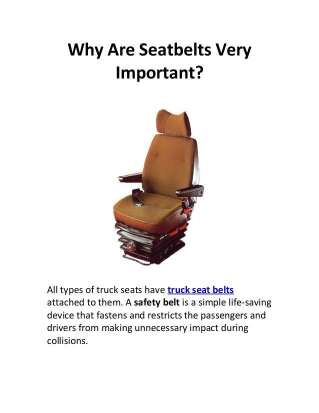 importance of wearing a seatbelt essay