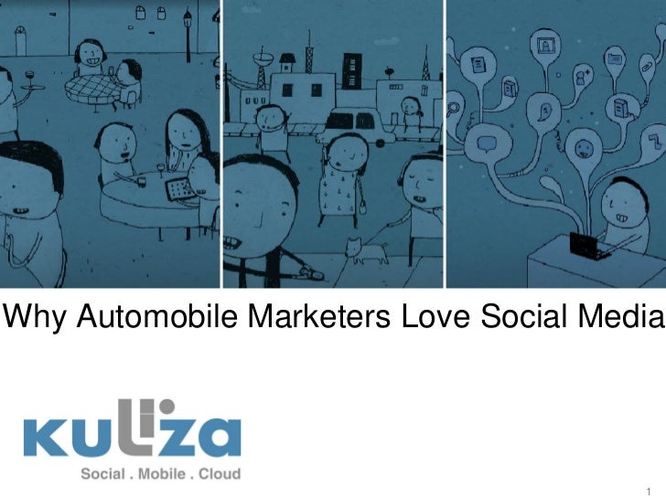 Why Automobile Marketers Love Social Media                                        1