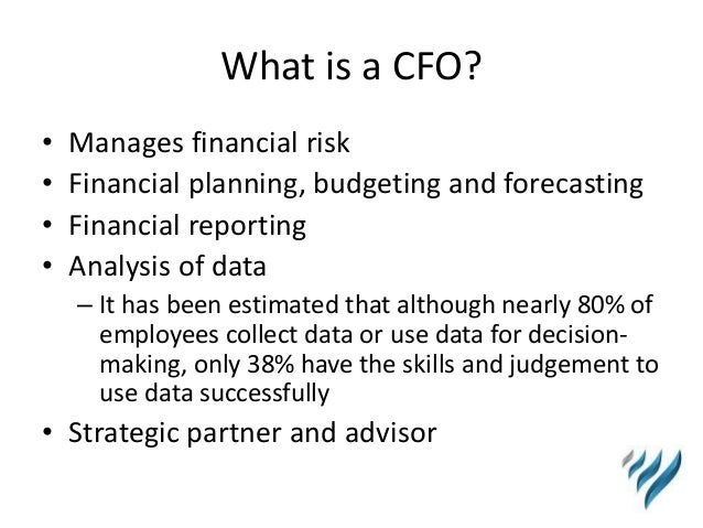 Why a Virtual CFO is right for YOUR Business