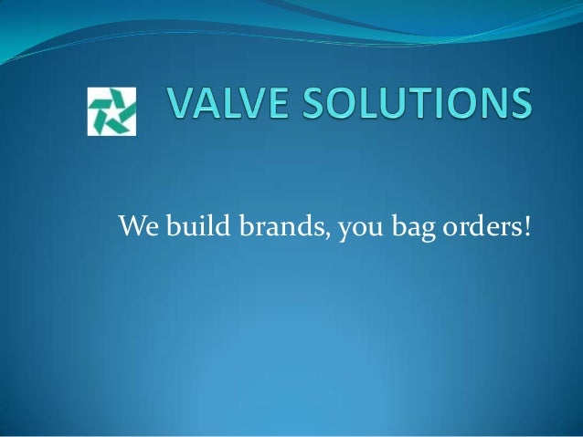 We build brands, you bag orders!