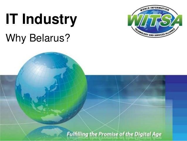 IT IndustryWhy Belarus?