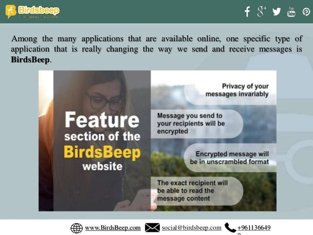 Why birds beep is the one of the best encrypted chat apps