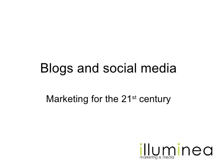 Why Blogs and Social Media are Effective Marketing Tools Slide 2
