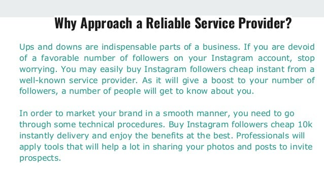 Why Businesses Buy Instagram Followers?