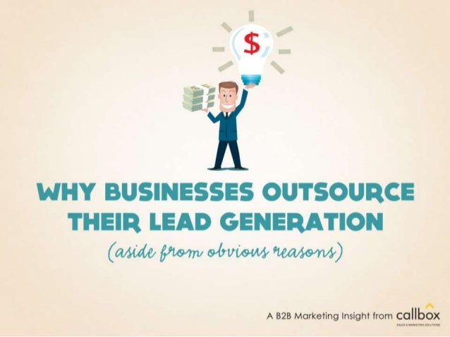Why Businesses Outsource their Marketing (aside from obvious reasons)