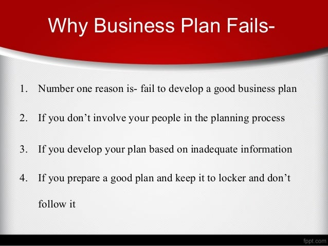 why prepare a business plan
