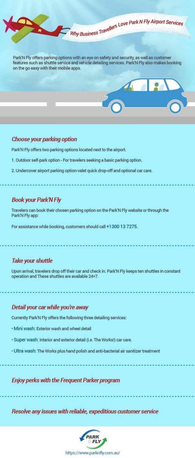 Why business travellers love park n fly airport services?