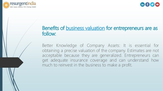 Why Business Valuation Is Important For Entrepreneurs