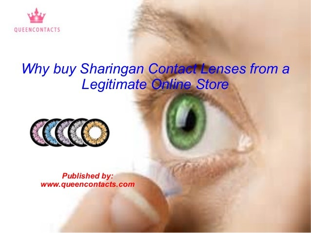 f6fbbf72882 Why buy Sharingan Contact Lenses from a Legitimate Online Store Published  by  www.queencontacts ...