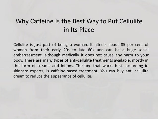 how to get rid of caffeine