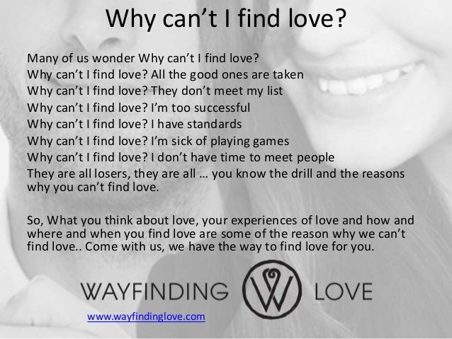 How can you find love