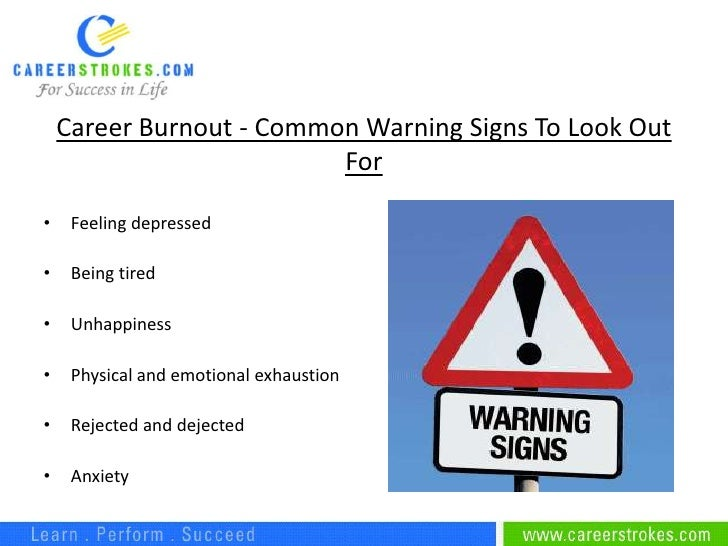 career burnout effects and solution to minimize it The negative effects of burnout if you pay attention and act to reduce for many of us changing job or career is far from being a practical solution—we.