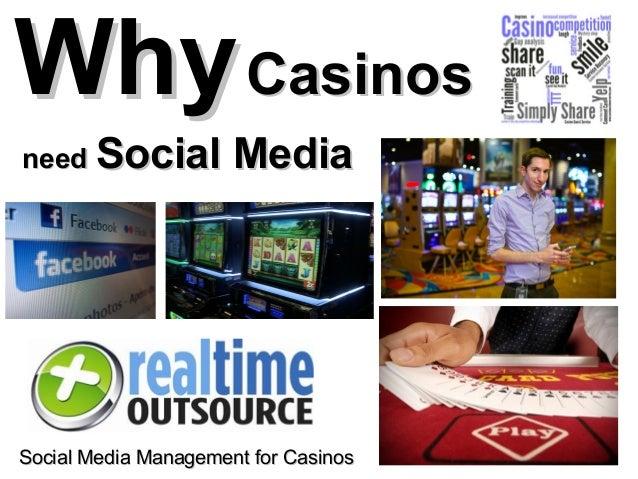 Why Casinosneed Social           MediaSocial Media Management for Casinos