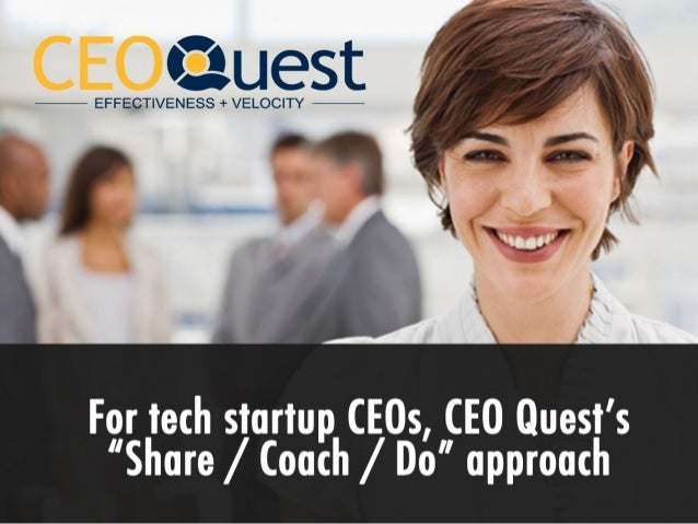 Why ceo quest?