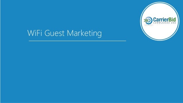 WiFi Guest Marketing