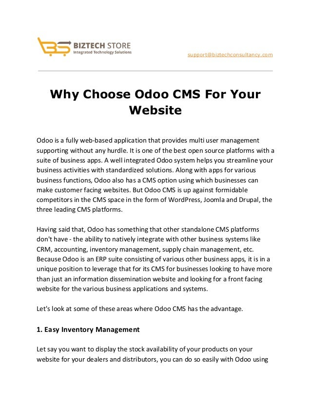 how to choose a cms