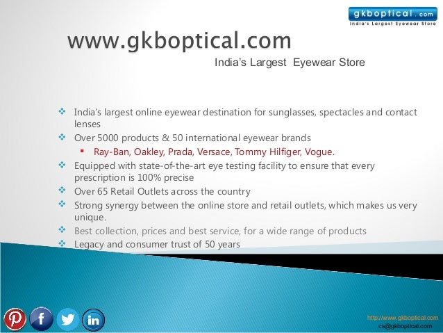 India's Largest Eyewear Store India's largest online eyewear destination for sunglasses, spectacles and contact  lenses ...