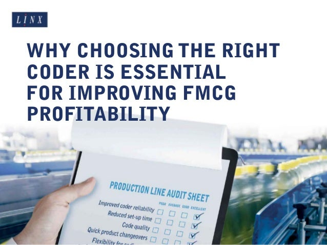 WHY CHOOSING THE RIGHT CODER IS ESSENTIAL FOR IMPROVING FMCG PROFITABILITY