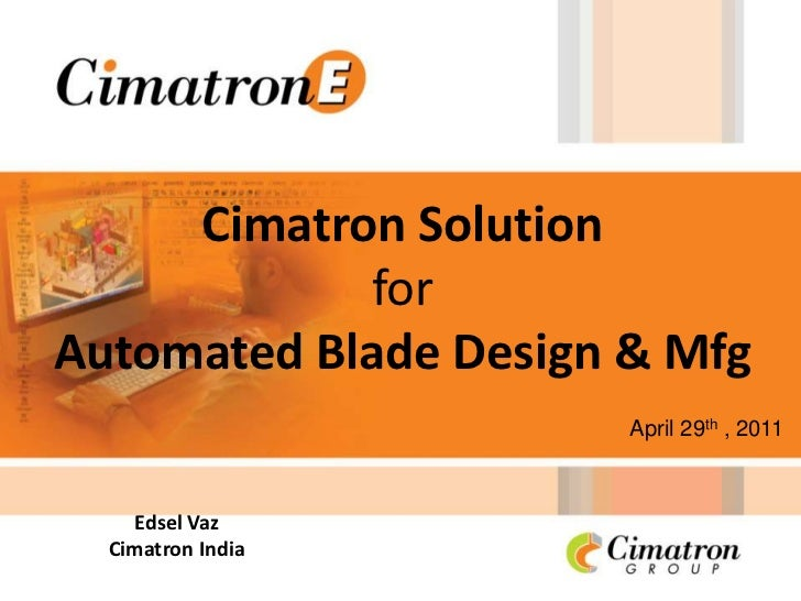 Why cimatron solution for EPC