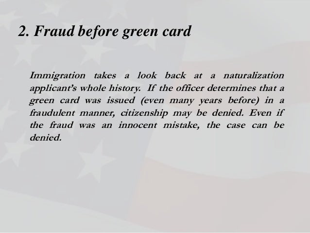 Why Citizenship May Be Denied Form N 400