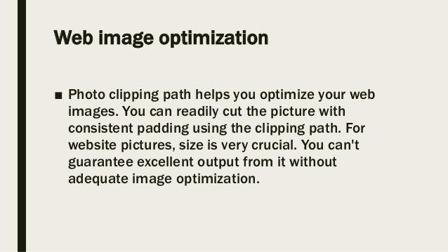 Why clipping path service is perfect for your business