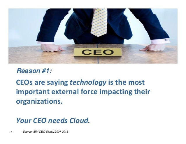 Mr. CIO, 5 Reasons Why You Need Cloud Slide 2