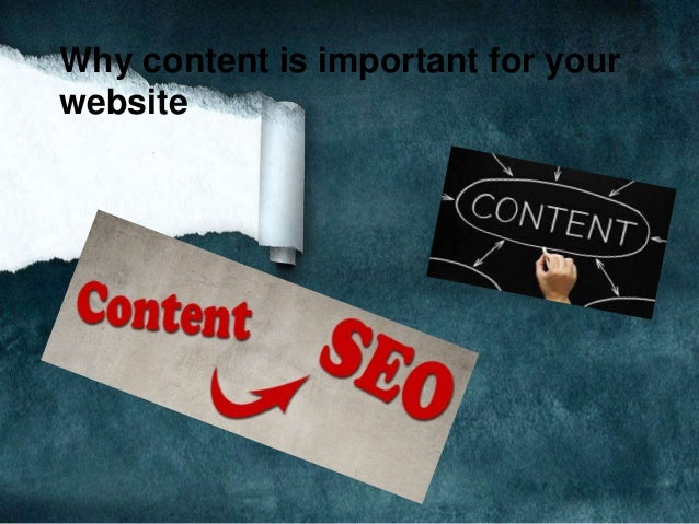Why content is important for your website