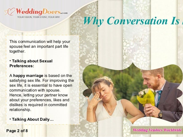 Why Conversation Is So Important In Marriage