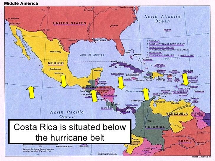 Caribbean Hurricane Belt Map. Catragena Caribbean For Map Of Mexico ...